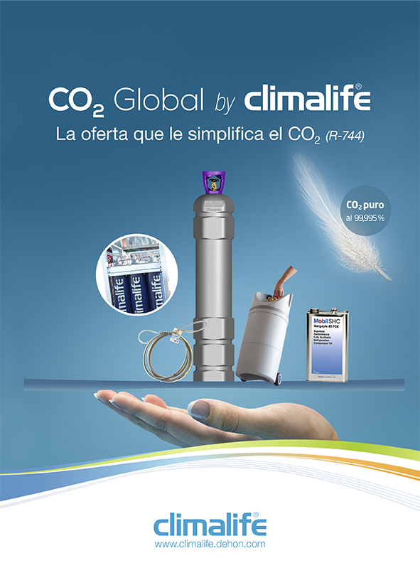 CLIMALIFE FRIOGAS: Especial CO2: Presentamos nuestra oferta integral «CO2 Gobal by climalife»